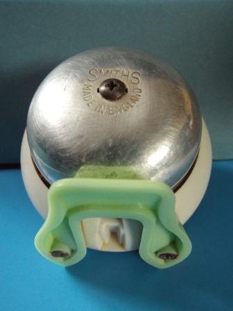 Image 3 of SMITHS CLOCKWORK KITCHEN TIMER CLOCK GREEN WORKING