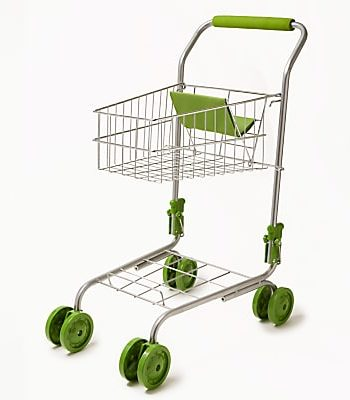 John Lewis & Partners Toy Waitrose Shopping Trolley