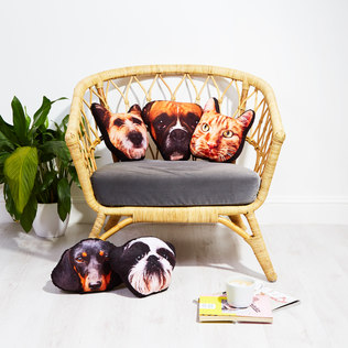 Pet Mushion - Personalised Pet Cushion