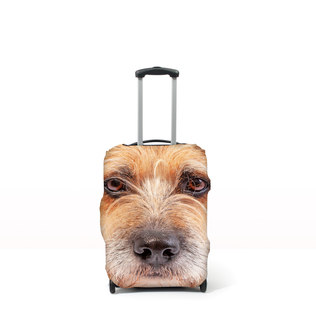 Pet Head Case - Personalised Pet Luggage Cover (M (Cases 64-76cm tall))