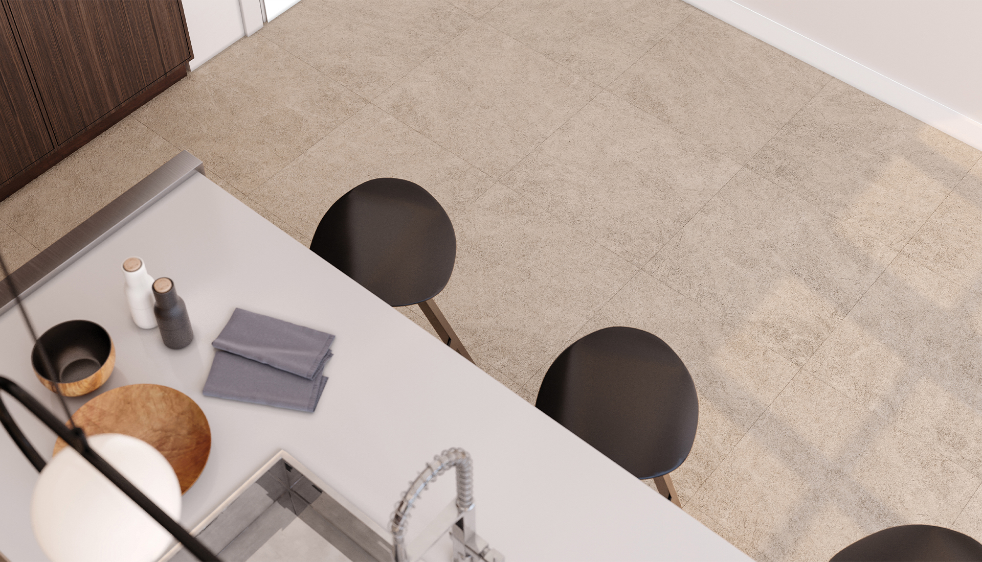 24 x 24 in / 60 x 60 cm Mayfair Allure Ivory Polished Rectified Glazed Porcelain Tile