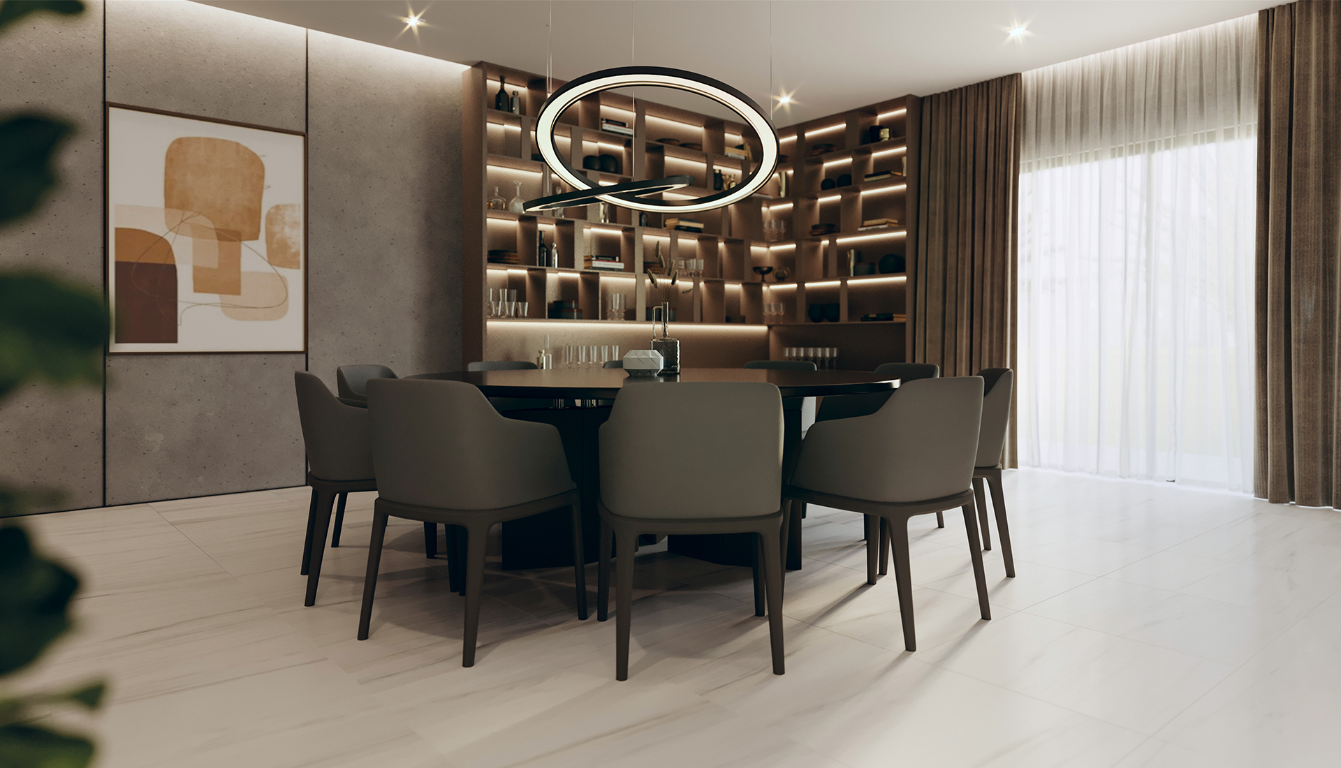 24 x 48 in / 60 x 120 cm Mayfair Suave Bianco Polished Rectified Glazed Porcelain Tile