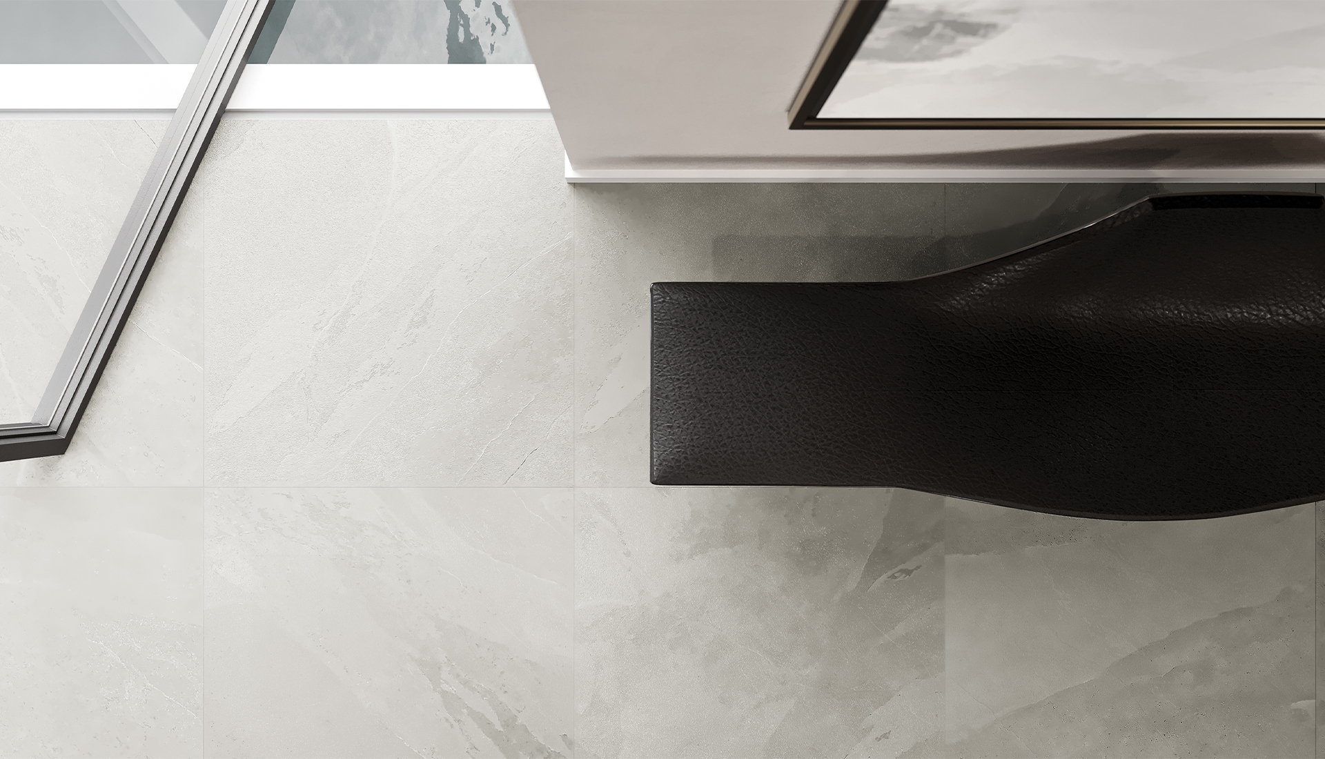 24 x 24 in / 59.5 x 59.5 cm Nord Lithium Matte Rectified Color Body Porcelain Tile