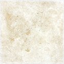 Ivory 16 x 16 in / 40.6 x 40.6 cm Chiseled & Brushed