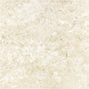Ivory 16 x 16 in / 40.6 x 40.6 cm Brushed