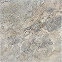 Silver Ash 16 x 16 in / 40.6 x 40.6 cm Chiseled & Brushed