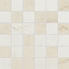 Bellina Cream Multi 2 x 2 in / 5 x 5 cm Mosaic Matte