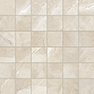 Classic Pulpis Ivory 2 x 2 in / 5 x 5 cm Mosaic Matte