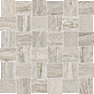 Precept Clay 2 x 2 in / 5 x 5 cm Basketweave Mosaic Matte