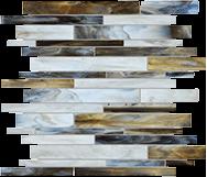 Baroque Corallo Random Strip Mosaic