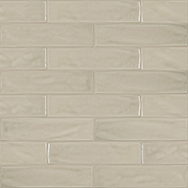 Marlow Earth 3 x 12 in / 7.5 x 30 cm Pressed Glossy