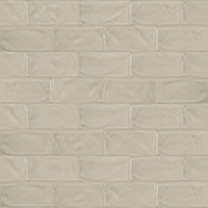 Marlow Earth 3 x 6 in / 7.5 x 15 cm Pressed Glossy