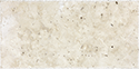 Ivory 8 x 16 in / 20.1 x 40.6 cm Chiseled & Brushed