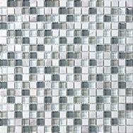 Glass + Stone Blend Mosaics Iceland 5/8 x 5/8 in / 1.6 x 1.6 cm Mosaic