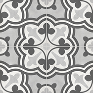 Form Ice 8 x 8 in / 20 x 20 cm Baroque Pressed Matte
