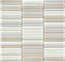 Element Sand Natural Blend Stacked Mosaic