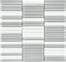 Element Cloud Shades of Grey Blend Stacked Mosaic