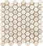 Impero Reale 1.25 in / 3.2 cm Hexagon Mosaic Polished / Honed