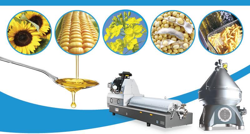 Centrifuges in Edible oil processing webinar