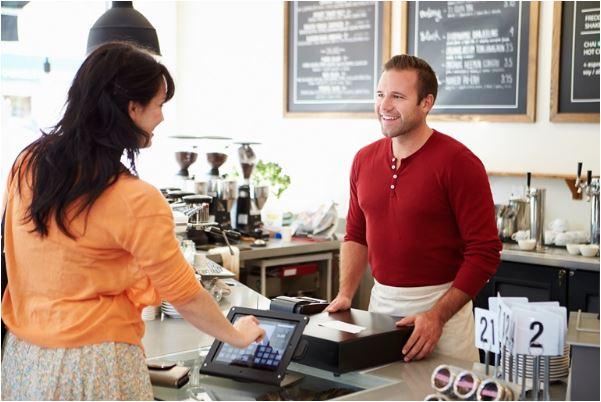 Using a cash register