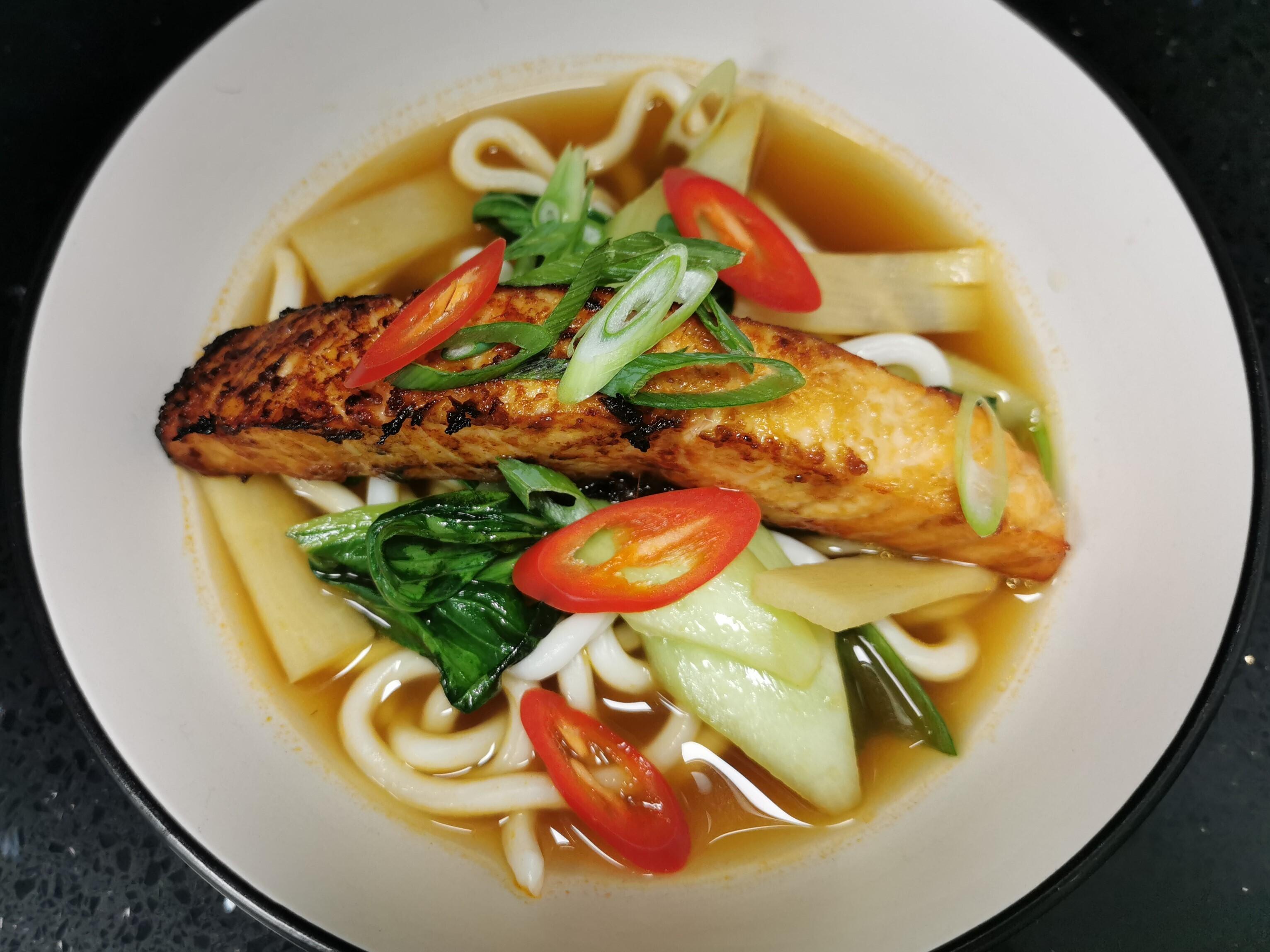 Miso Salmon Ramen