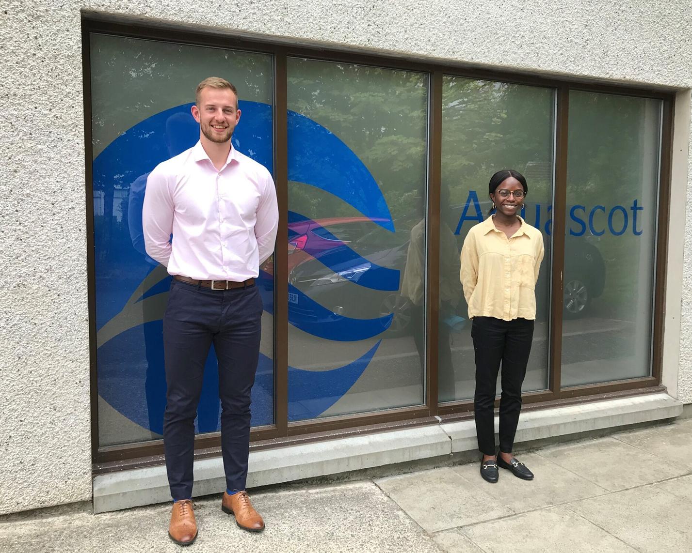 Saltire Scholars Join the Team