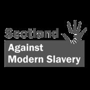 Modern Slavery Logo bw