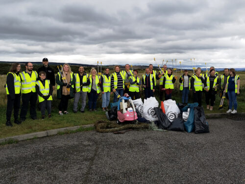 Aquascot and Sister Company SHORE Team Up for First Local Beach Clean