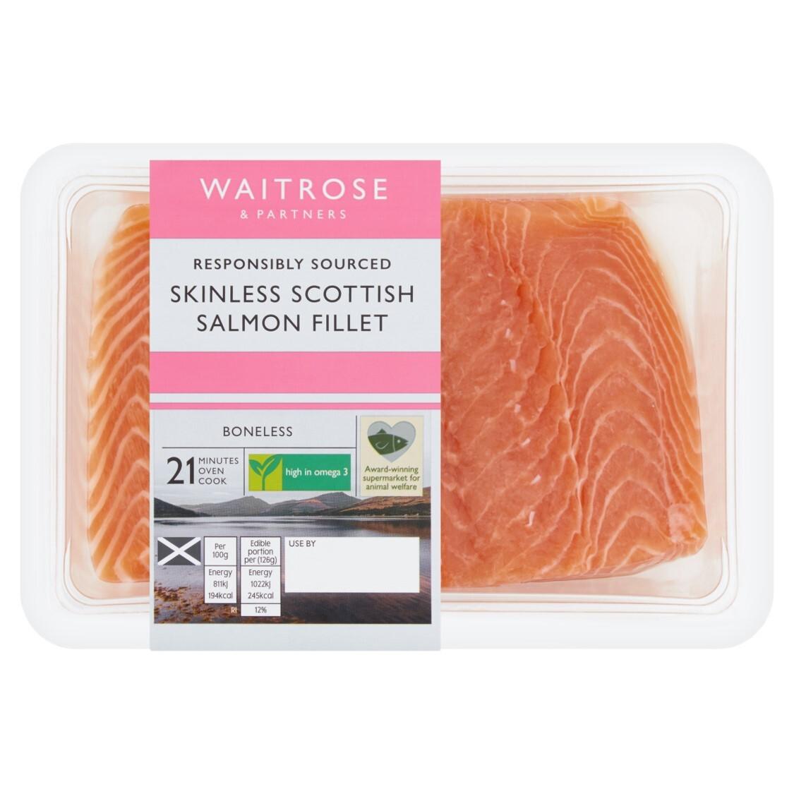 Skinless Salmon Fillet