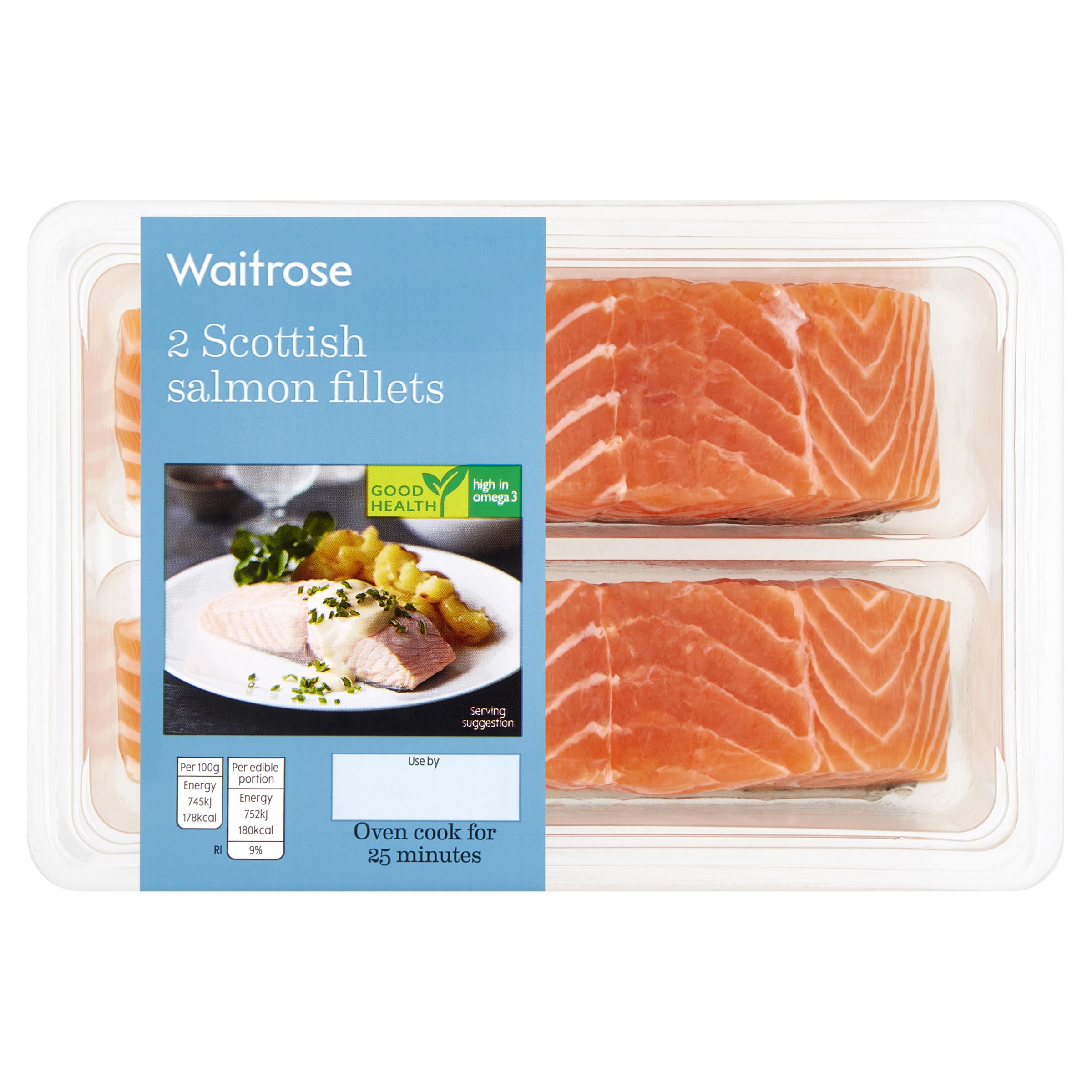 2 Scottish Salmon Fillets