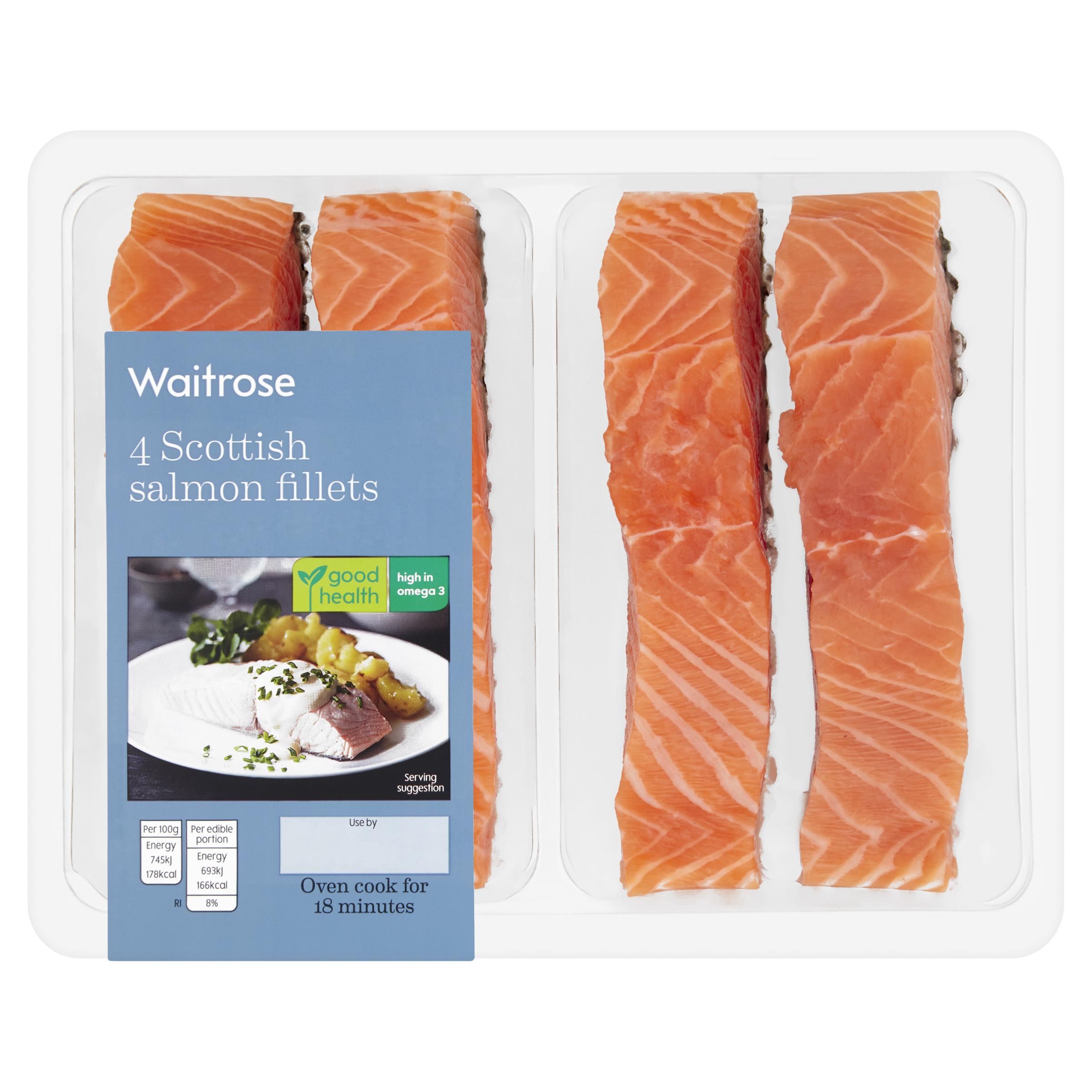 4 Scottish Salmon Fillets