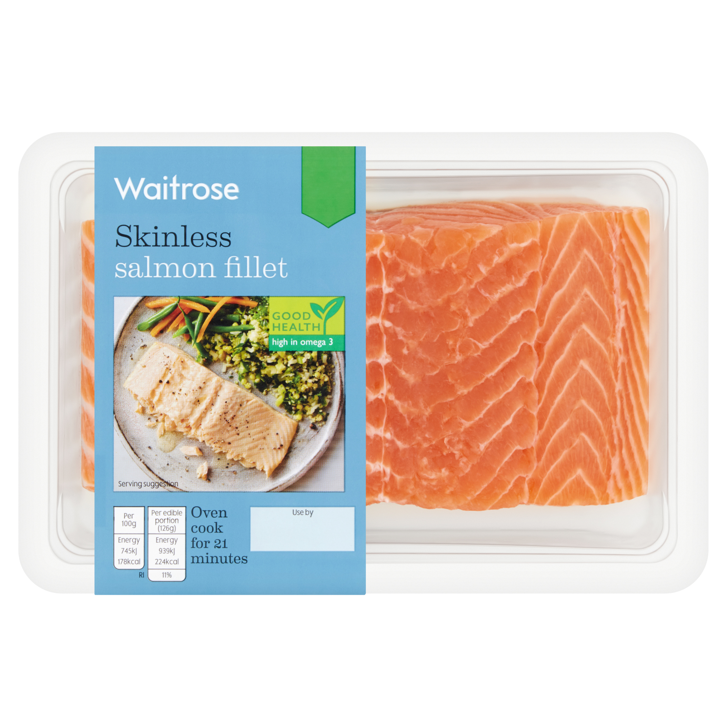 Skinless Salmon Fillet