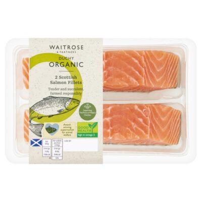 Duchy Organic 2 Scottish Salmon Fillets