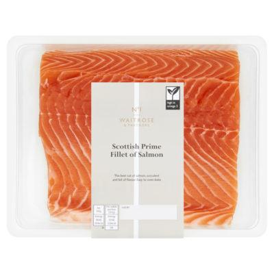 Scottish Prime Fillet of Salmon