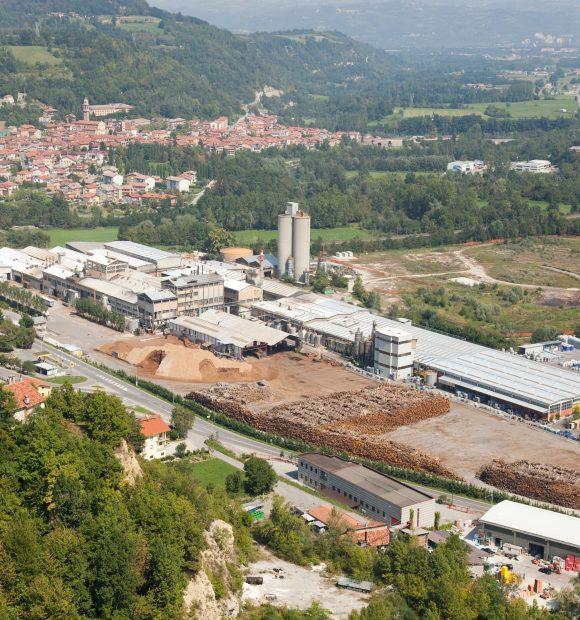 Il quartier generale del Gruppo Silvateam a San Michele Mondovì