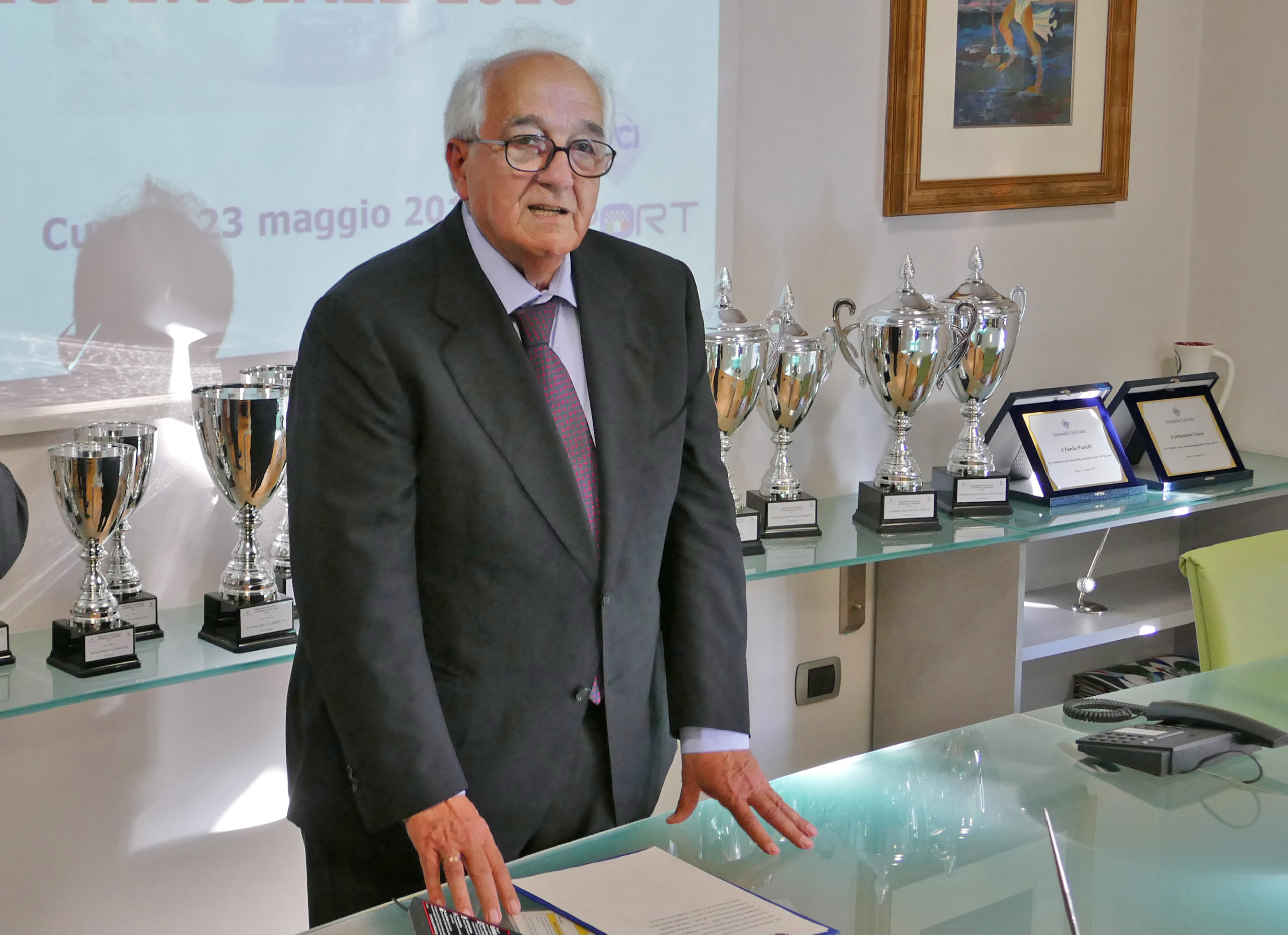 Francesco Revelli, presidente dell'Automobile Club Cuneo