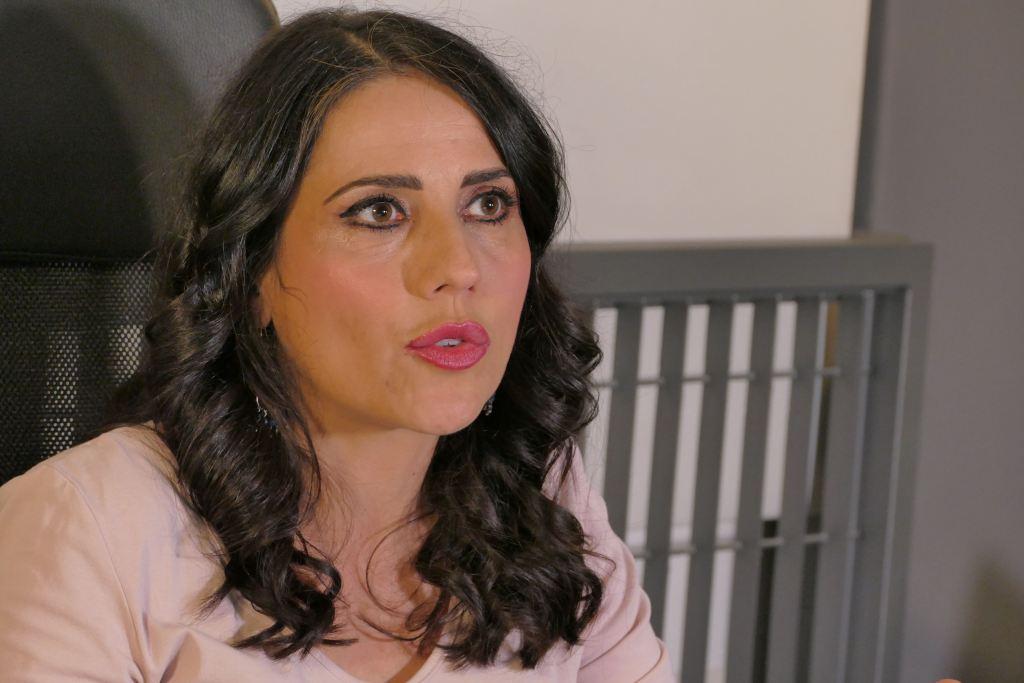 La giornalista e sceneggiatrice Caterina Taricano