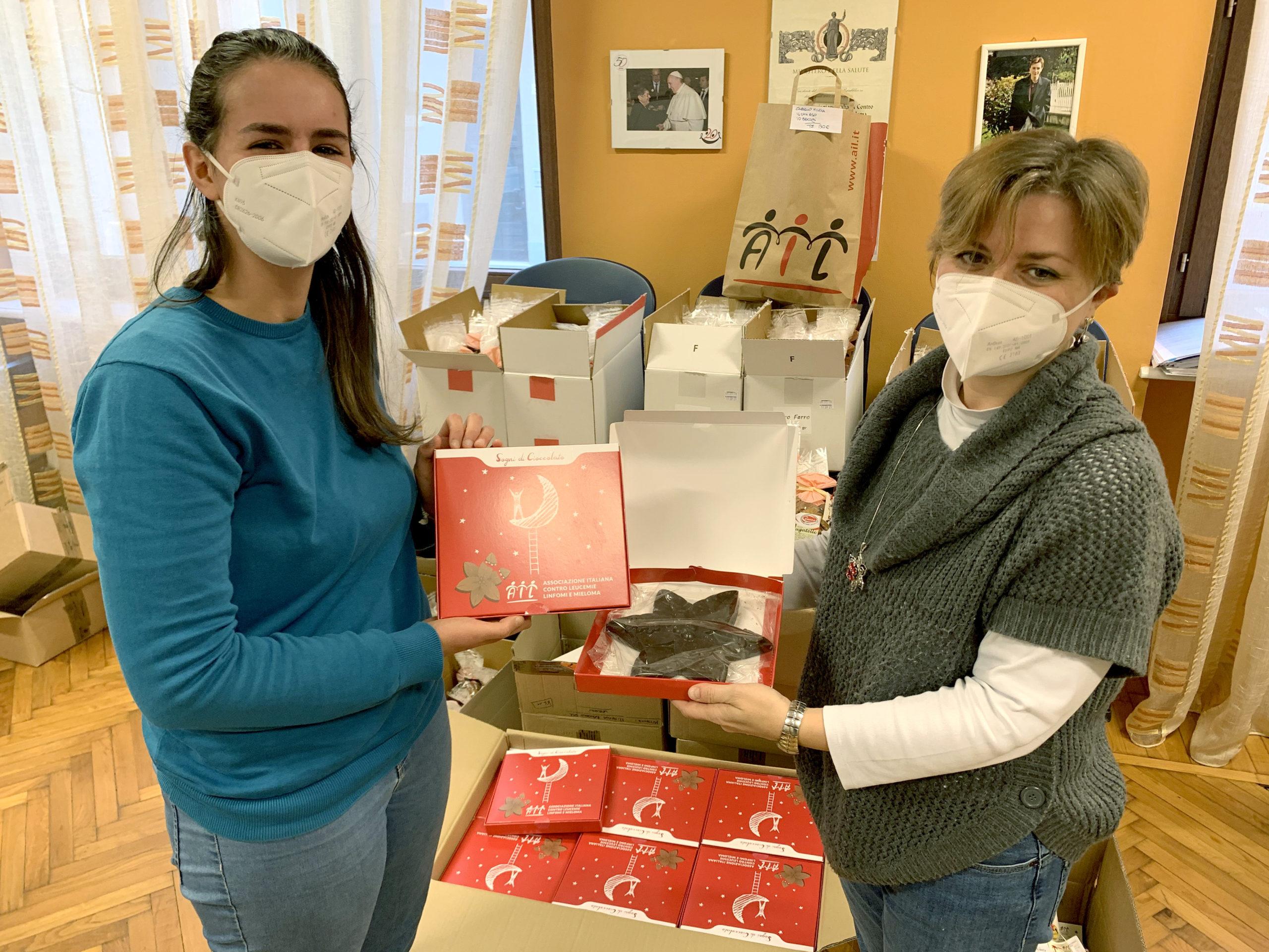 Stella Di Natale Ail 2021.Stella Cioccolato Natale Ail In Nome Della Sicurezza