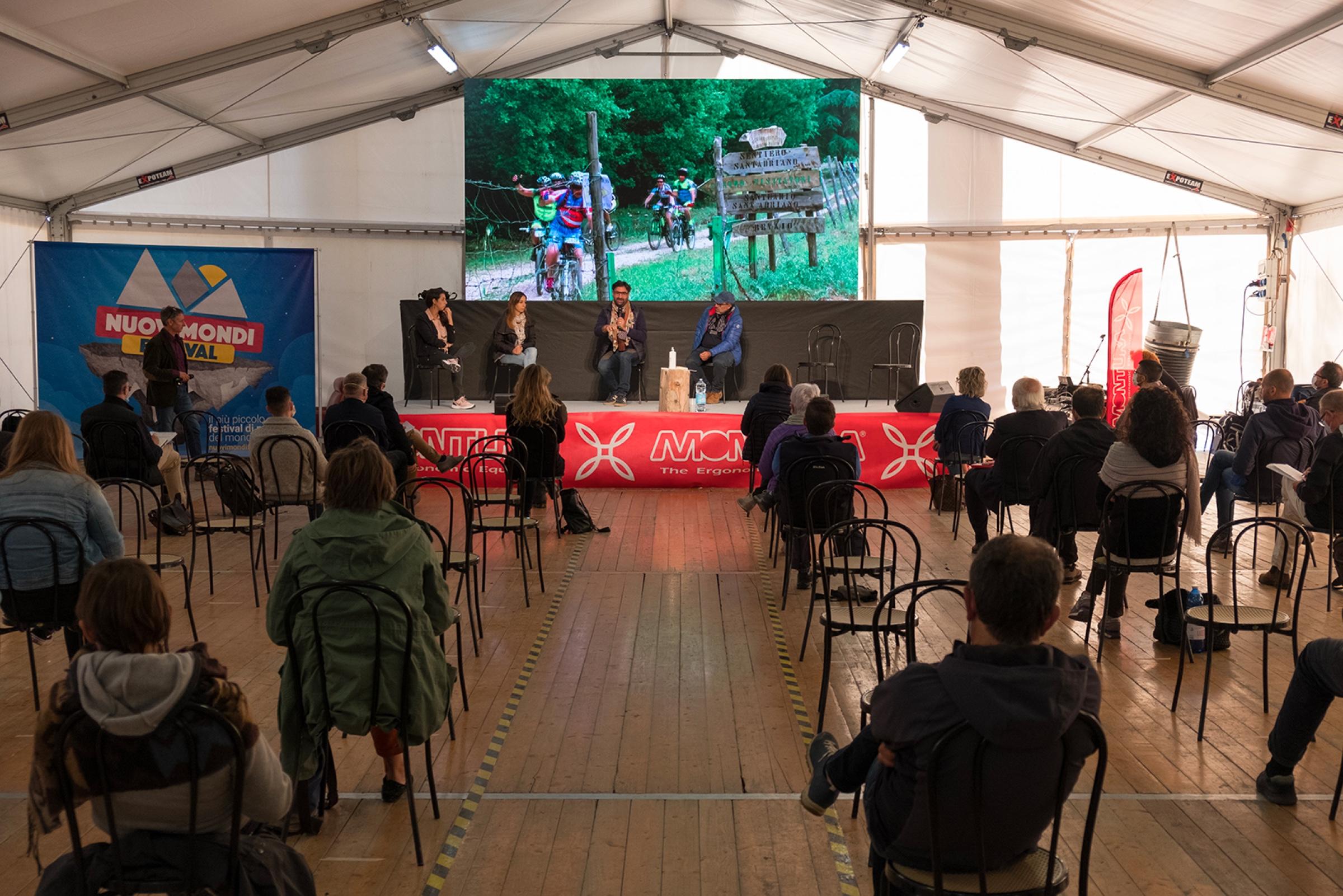 Un momento del Nuovi Mondi Festival 2020, nel quale è nata RIFAI