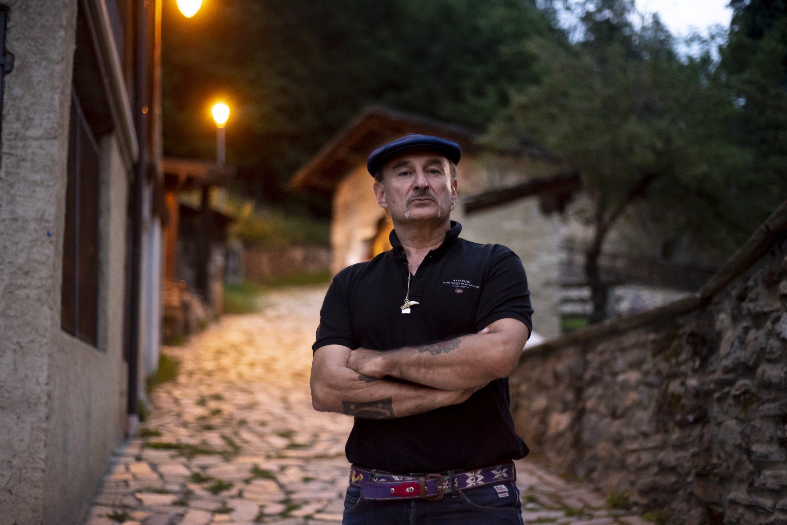 Sergio Berardo dei Lou Dalfin, direttore artistico del festival Occit'amo