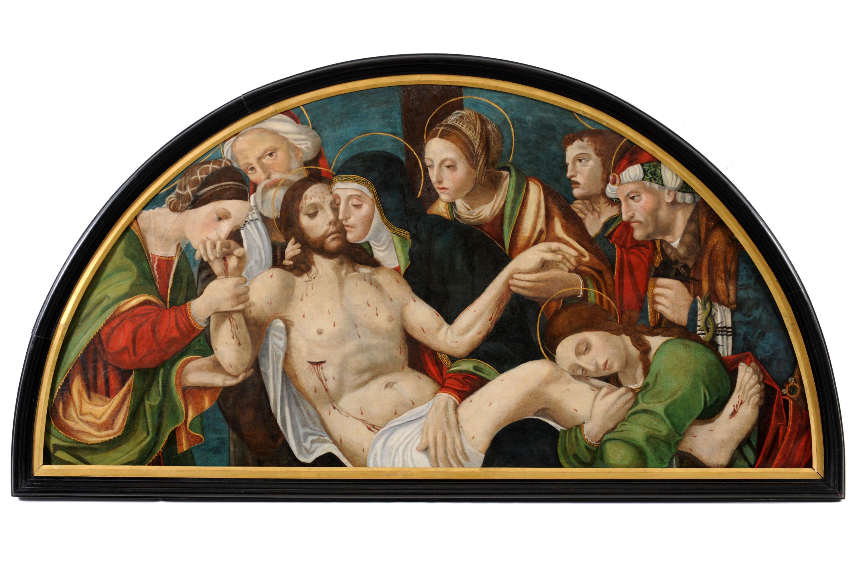 03_Anonimo Piemontese, Compianto sul Cristo Morto, XV-XVI secolo - Torino, collezione privata