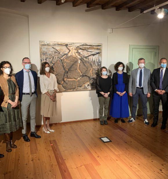 """Conferenza stampa di presentazione della mostra """"Fragilità resistente. Anselm Kiefer dalla collezione Terrae Motus di Caserta"""""""