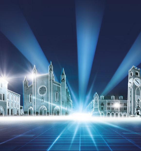 Dieci videoinstallazioni luminose a Cuneo, Alba, Bra e Mondovì: è Cuneo Provincia Futura