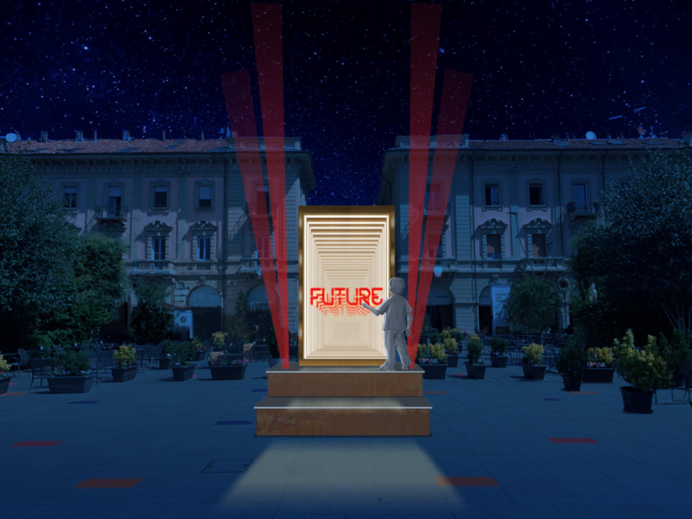 Alba: in piazza Ferrero viene proposta una riflessione sul futuro (Cuneo Provincia Futura)