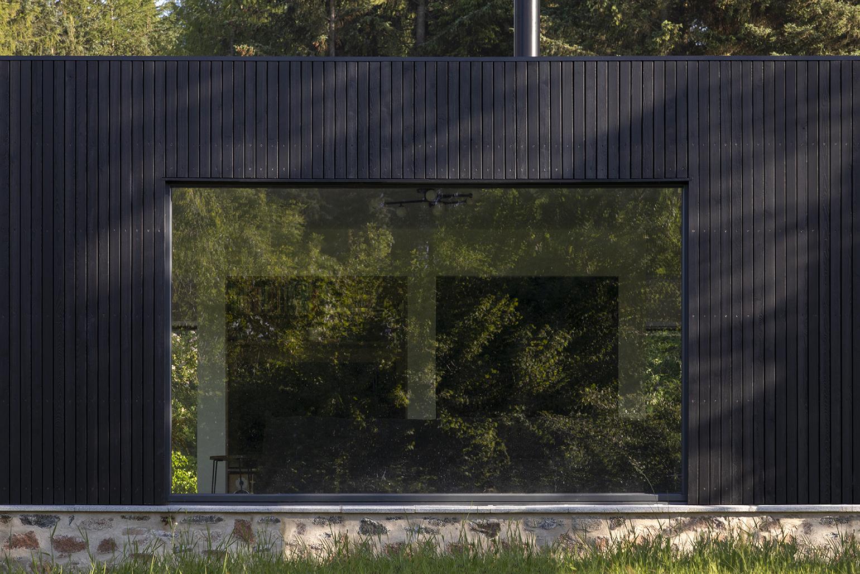 Cornival Exterior Cladding Window Cottage Extension Aberdeenshire R09