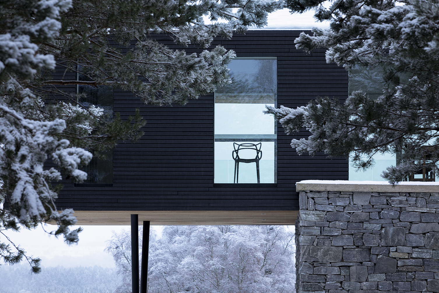 Lower Tullochgrue in Cairngorms Aberdeenshire by Brown & Brown Architects 004