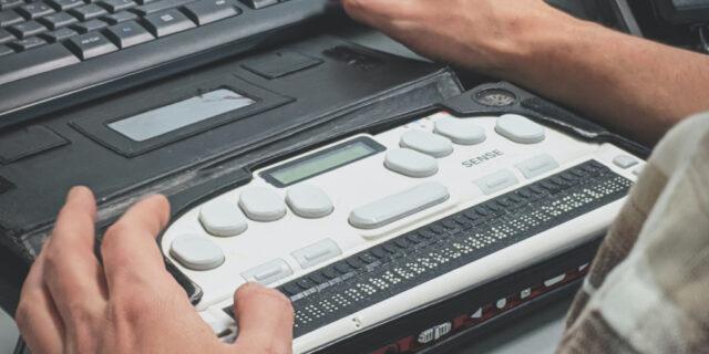 Braille keyboard 2