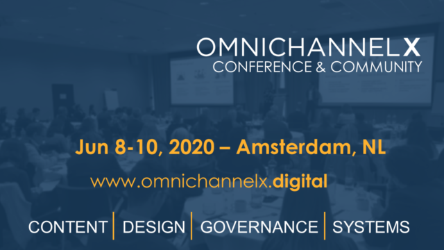 Banner OmnichannelX Conference 2020