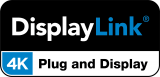 DisplayLink 4K Plug and Display logo