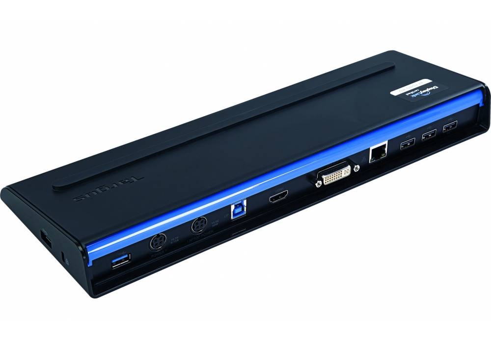 Targus USB 3.0 SuperSpeed Dual Video Docking Station with Power (ACP71)